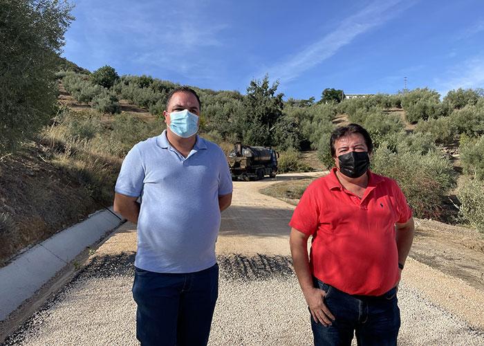 El Ayuntamiento de Martos ejecuta el arreglo del camino de Villarbajo a El Madroño con una inversión de 175.000 euros