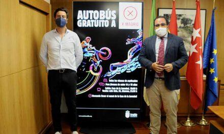 La Concejalía de Juventud ofrece un autobús gratuito hasta el centro de ocio X Madrid, ubicado en Alcorcón