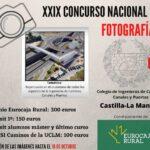 El Colegio de Ingenieros de Caminos en CLM convoca el XXIX Concurso Nacional de Fotografía sobre la influencia de la profesión en la sociedad