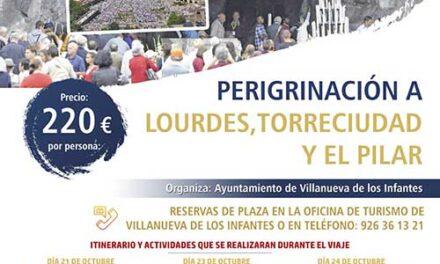 El Ayuntamiento de Infantes organiza una peregrinación a Lourdes, Torreciudad y Zaragoza
