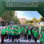 Un millar de puertollanenses arropa a la AECC en la I Marcha contra el cáncer