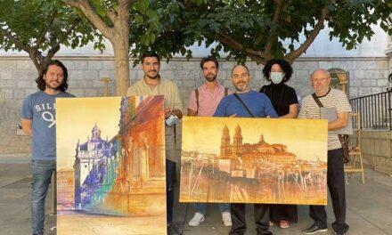 Diez artistas retratan en seis horas su visión desde el centro histórico de la ciudad en la 38 edición del Concurso de Pintura Rápida «Diego Figueroa Hortelano» del Ayuntamiento de Jaén